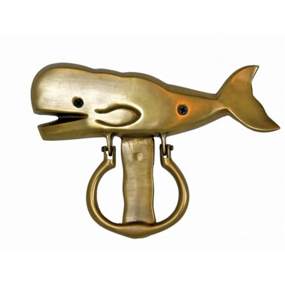 Solid brass whale door knocker 8 - Whale door knocker ...