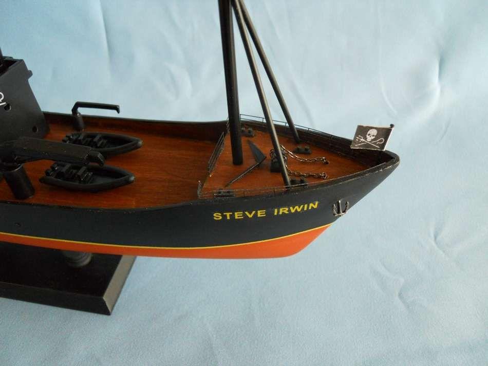 Buy Whale Wars Steve Irwin Limited Model Boat 14 Inch 50