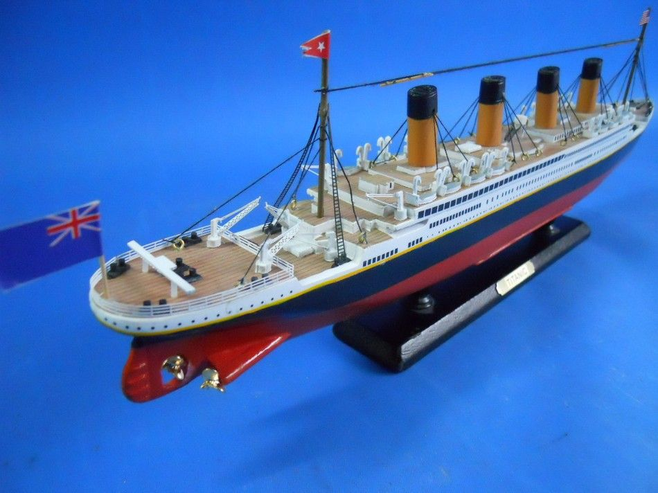 Buy Rms Titanic Limited 15 Quot Model Ship Assembled Famous