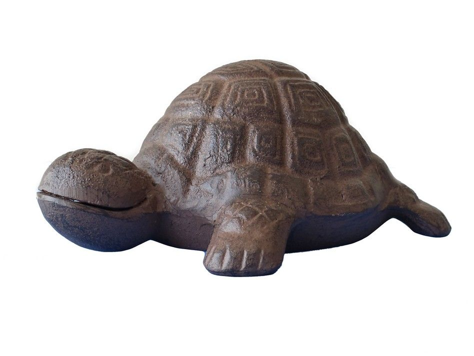 Buy rustic cast iron turtle 6 inch wholesale sea home Turtle decorations for home