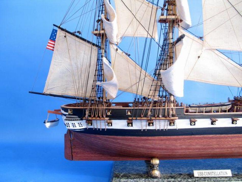 Buy Uss Constellation 37in Model Ships