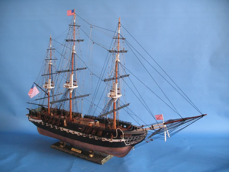 Buy USS Constitution Limited Tall Model Ship 38 Inch ...