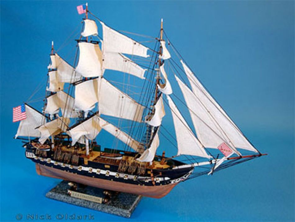 Model of USS Constitution