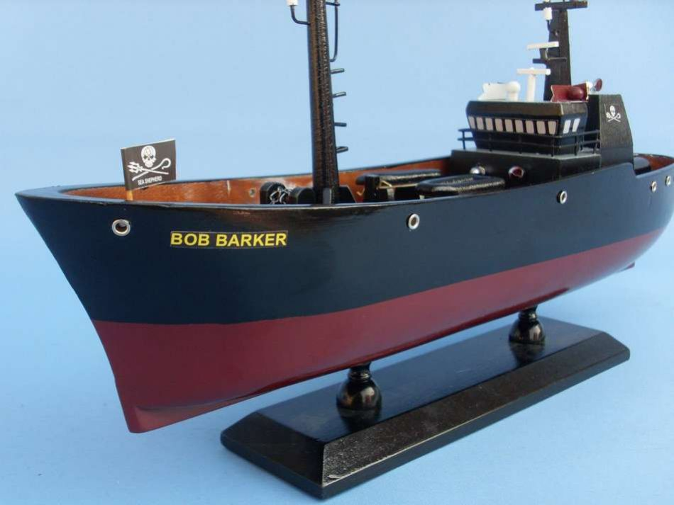 Lobster Boats For Sale >> Buy Bob Barker 14in - Whale Wars - Model Ships