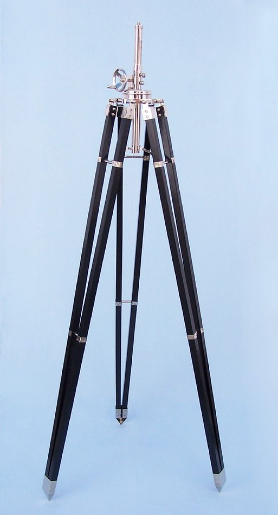 Wholesale black chrome royal marine lamp stand 70 model for Cheap tripod lamp