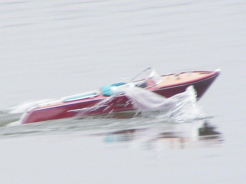 Riva model speed boat kit unassembled