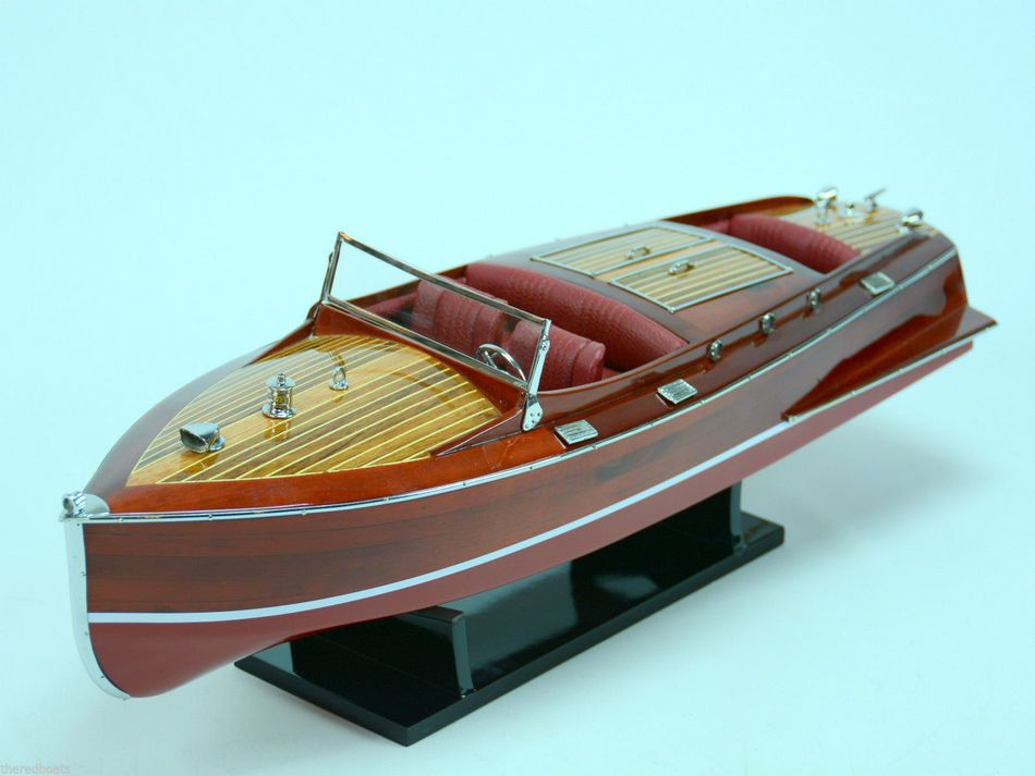 Buy Chris Craft Runabout Limited 24in Model Ships