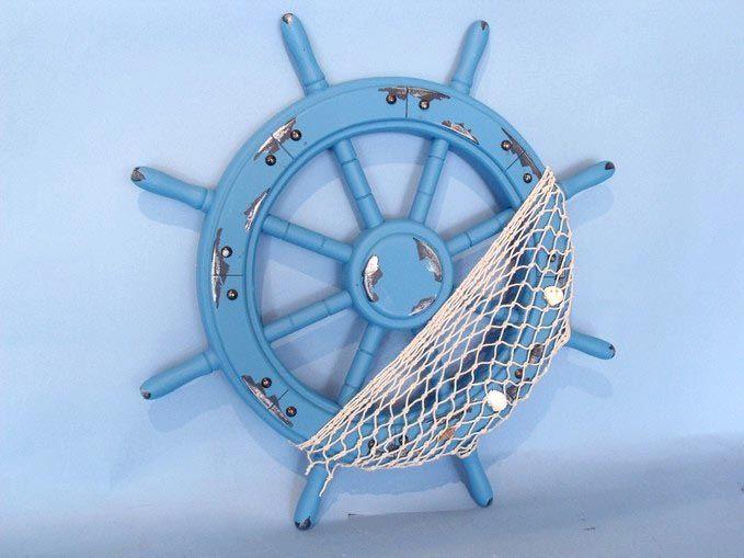 Decorative Wood Shipwheel