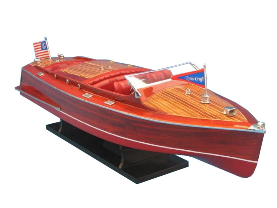 Remote Control Boats : Buy ready to run remote control chris craft runabout