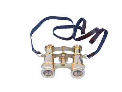 Captains Solid Brass Binoculars 4