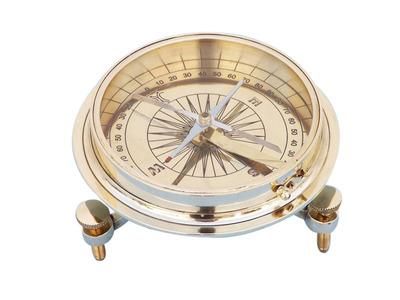 Brass Desktop Compass