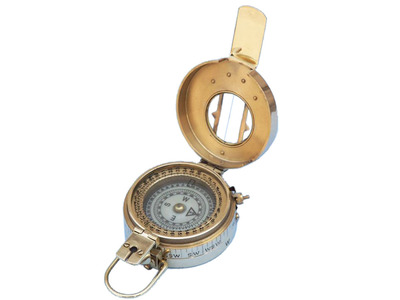 Solid Brass Engineers Compass 5