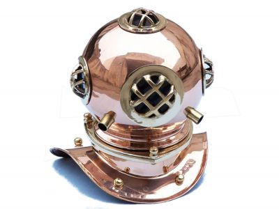Copper Divers Helmet 9
