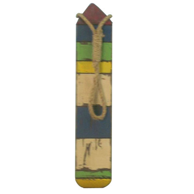Wooden Thin Multi-Color Buoy 25