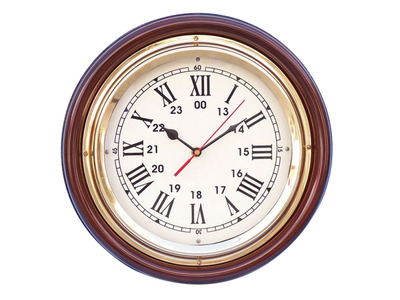 Ships Time Clock 12