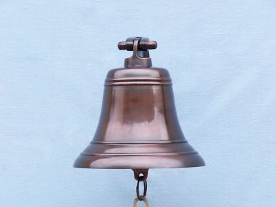 Antiqued Copper Bell 9