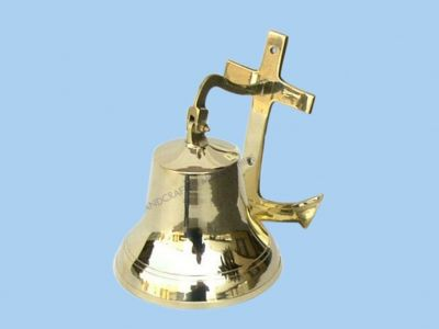 Brass Wall Anchor Bell 8