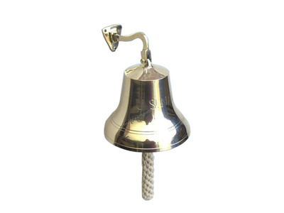 Brass Navy Bell 8