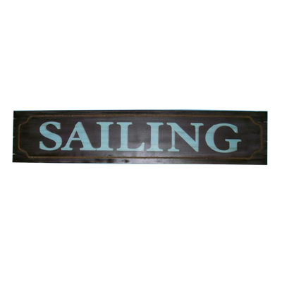 Wooden Sailing Wall Plaque 48