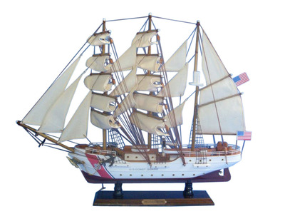 United States Coast Guard USCG Eagle Tall Model Ship 21\