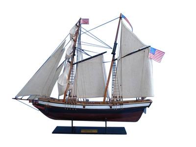 Wooden Lynx Model Ship 24"