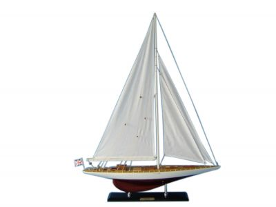 Wooden Gretel Limited Model Sailboat Decoration 35""