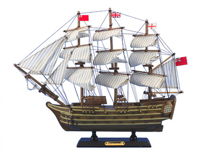 Wooden HMS Victory Tall Model Ship 14\