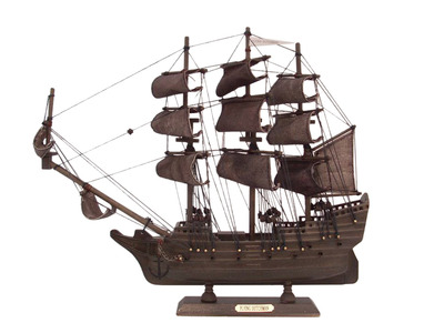 Wooden Flying Dutchman Model Pirate Ship 14\
