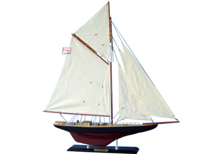 Wooden Valkyrie Limited Model Sailboat Decoration 27""