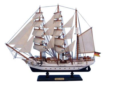 """Wooden Gorch Fock Tall Model Ship 20"""""""