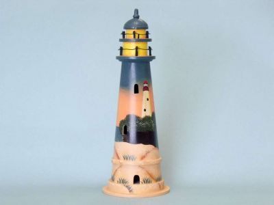 Sunset Wooden Lighthouse 16