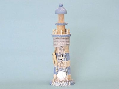 Netted Wooden Lighthouse 13