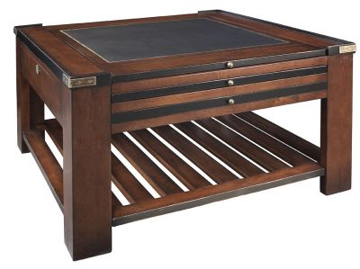 Ships Mate Game Table, Black 32