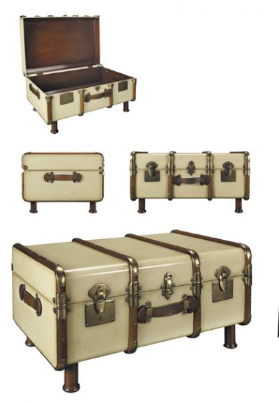 Ivory Stateroom Trunk 33