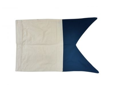 Letter A Cloth Nautical Alphabet Flag - 20