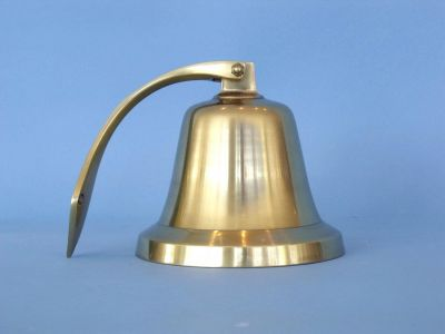 Antique Solid Brass Bell 14