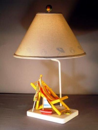 Beach Color Chair Electric Lamp 25