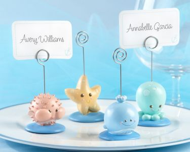 Set of 4 - Beach Buddies Placecard and Photo Holder 3