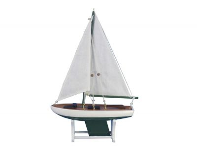 It Floats 12 - Green Floating Sailboat