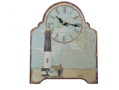 Wooden Vintage Lighthouse Clock 10