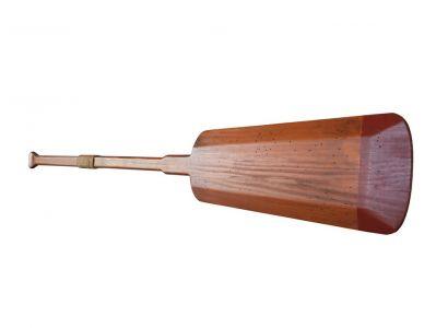 Wooden Shoreline Squared Rowing Oar w- Hooks 62