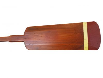 Wooden Dana Point Squared Rowing Oar w- Hooks 62