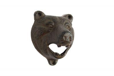 Cast Iron Bear Bottle Opener 4\