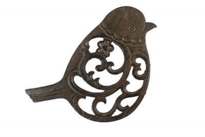Cast Iron Bird Trivet 8\
