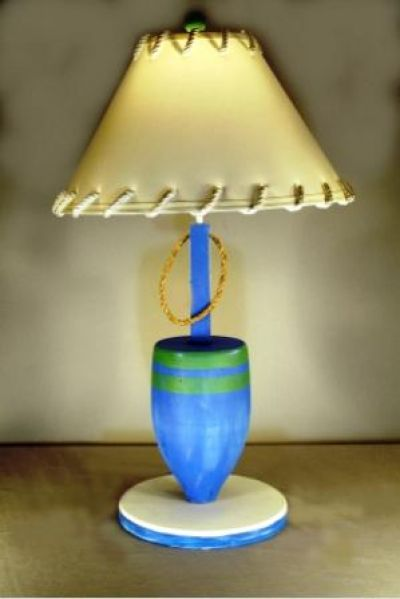 Blue Buoy Electric Lamp 30