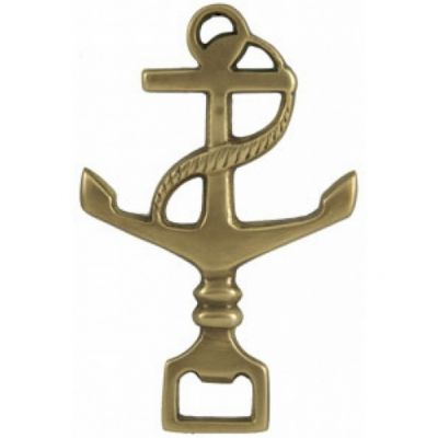 Solid Brass Anchor Bottle Opener 6