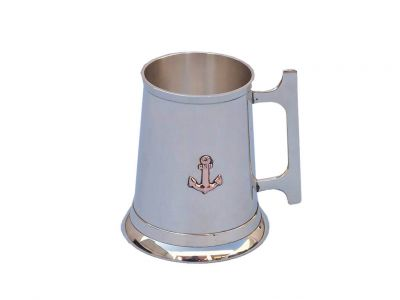 Brass Anchor Mug With Cleat Handle 5\