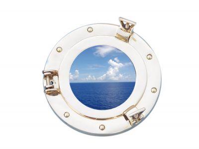 Deluxe Class Brass Porthole Window 8