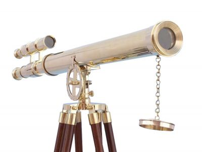 Floor Standing Brass Griffith Astro Telescope 64\