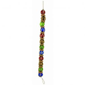 Multi-color Glass And Rope Buoy Chain 37